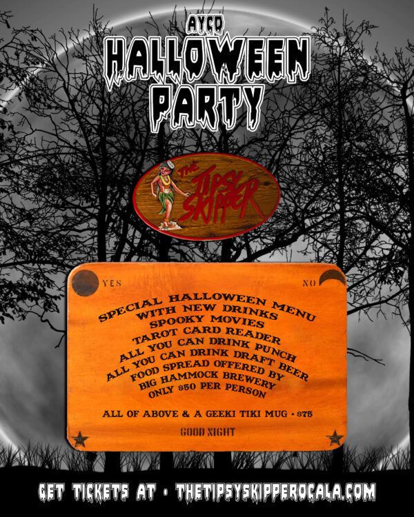 Tipsy Halloween Party Downtown Ocala 2020